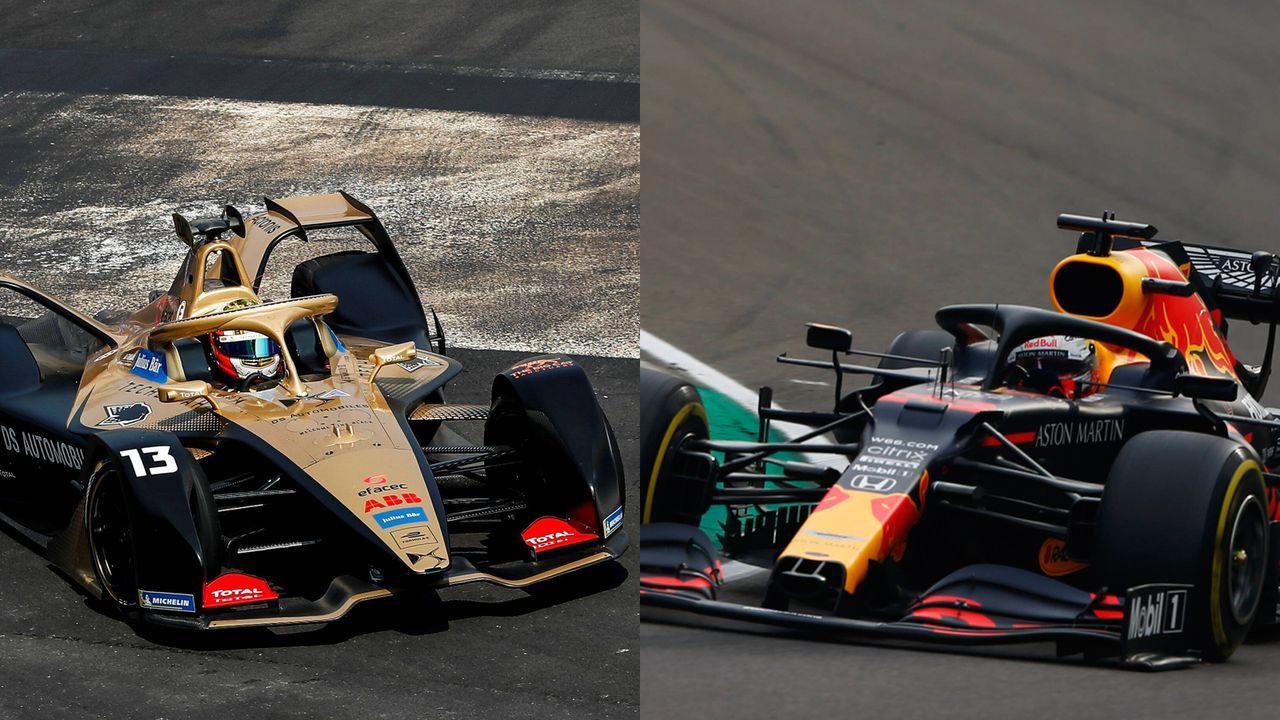 Formel E und Formel 1 im Vergleich - Bildquelle: Imago