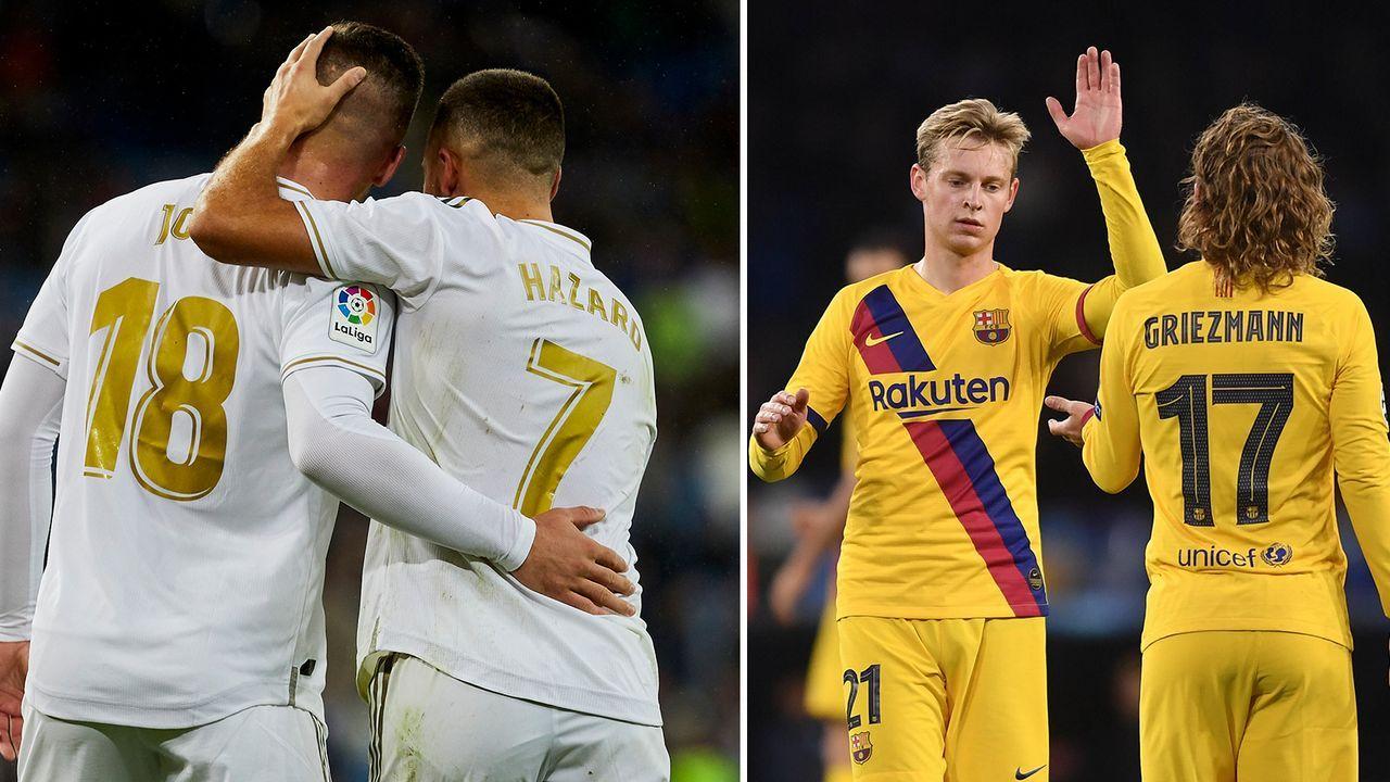 Real und Barca im Vergleich: Der vergangene Transfersommer - Bildquelle: Imago