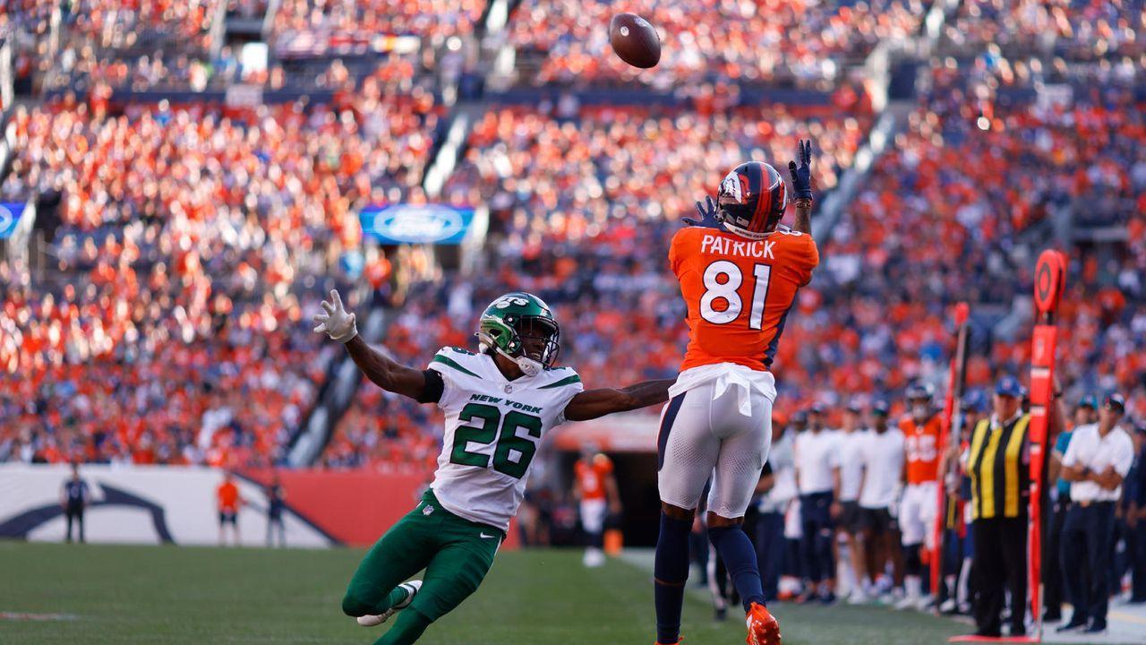Wide Receiver: Tim Patrick (Denver Broncos) - Bildquelle: 2021 Getty Images