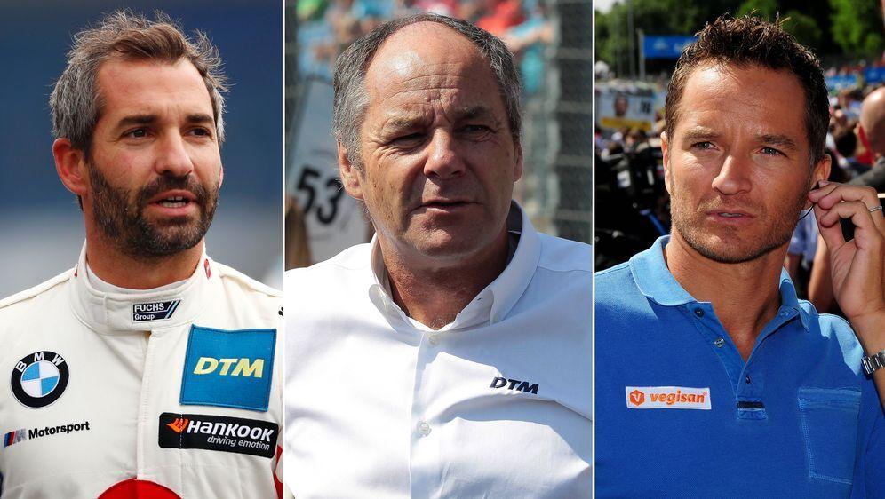 Zu Gast im ranTalk: Neues zur DTM-Saison 2020: Timo Glock, Gerhard Berger un... - Bildquelle: Imago Images