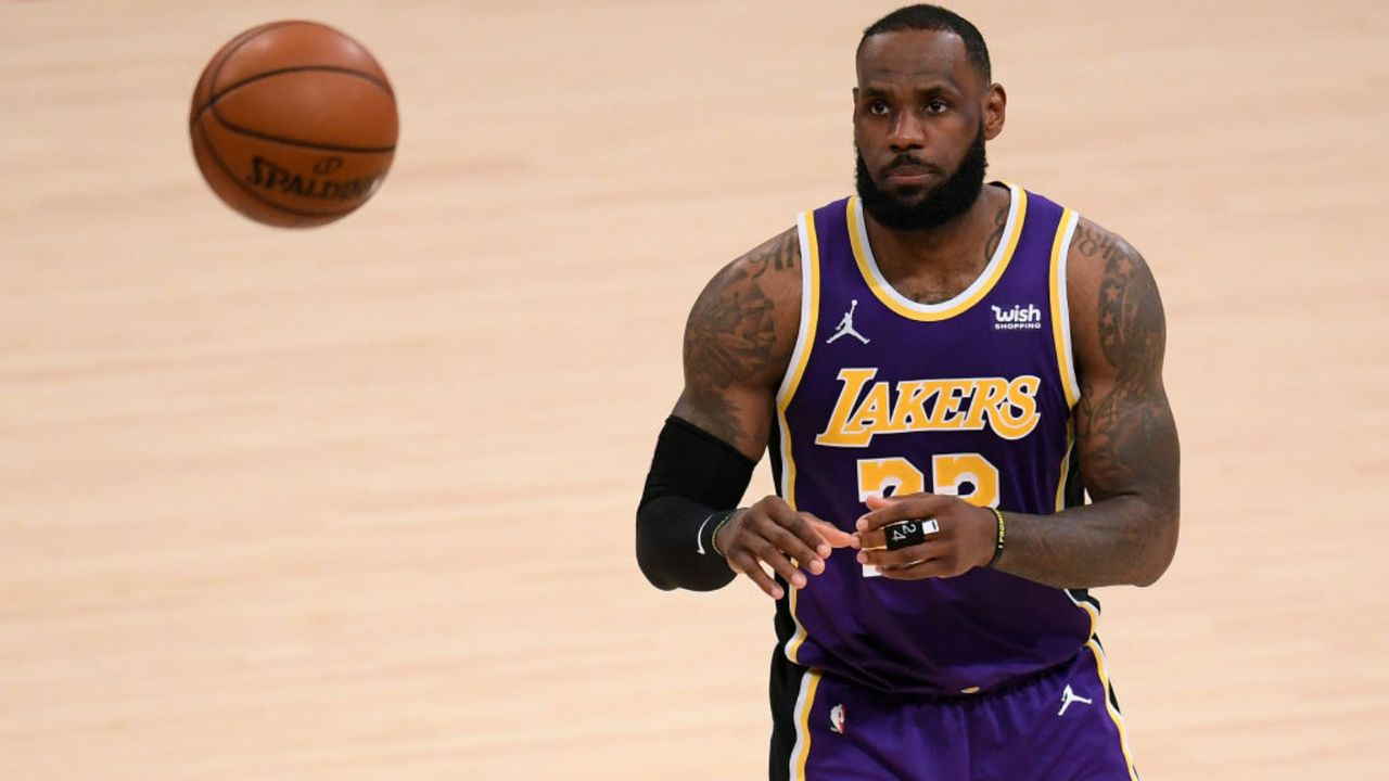 TEAM JAMES: LeBron James (Los Angeles Lakers/Starter) - Bildquelle: Getty