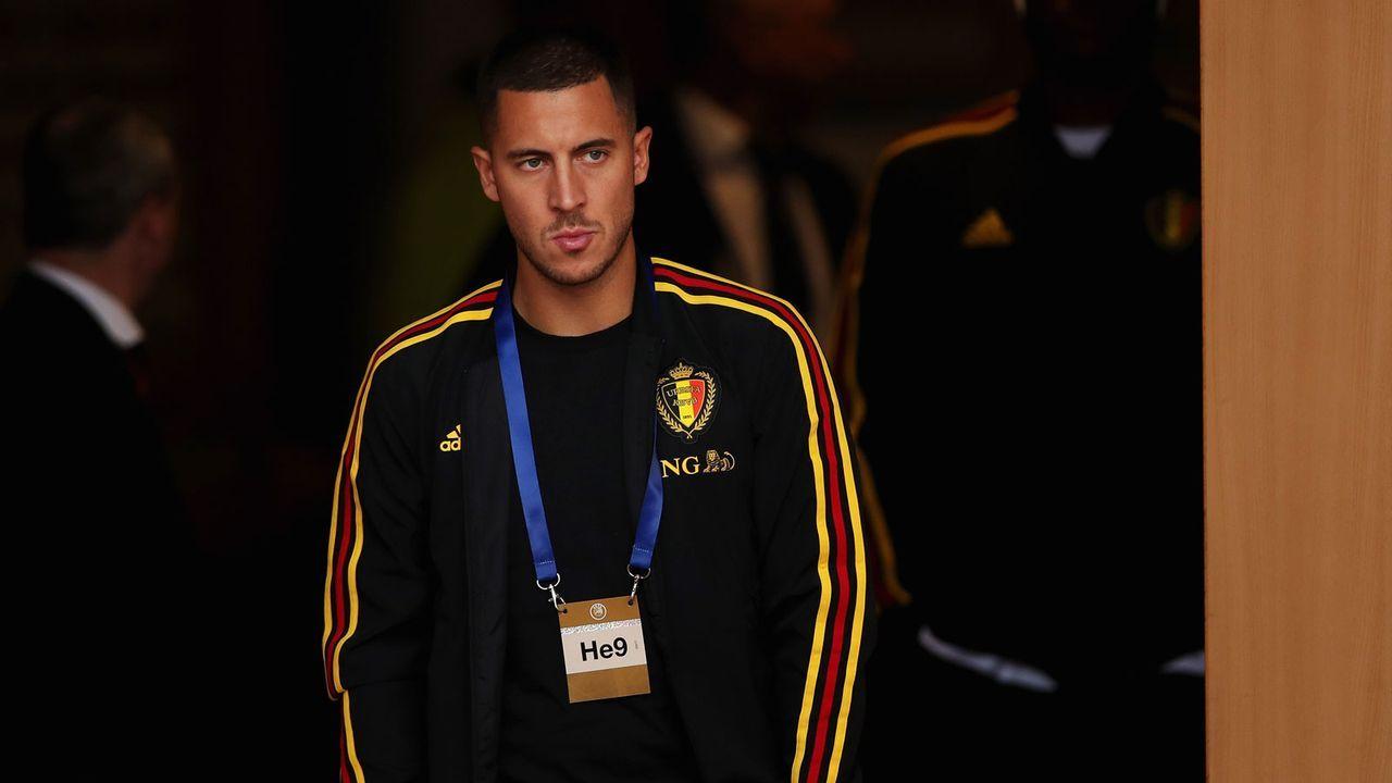 Belgien (FIFA-Weltrangliste Platz 1) - Bildquelle: 2018 Getty Images