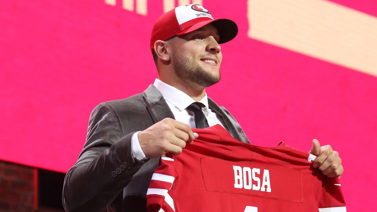 Nick Bosa (Defensive End, San Francisco 49ers) - Bildquelle: imago images / Icon SMI