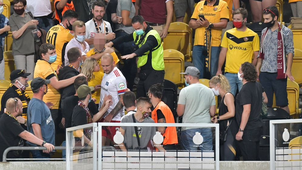 Toni Leistner wird dem HSV lange fehlen. - Bildquelle: imago images/Jan Huebner
