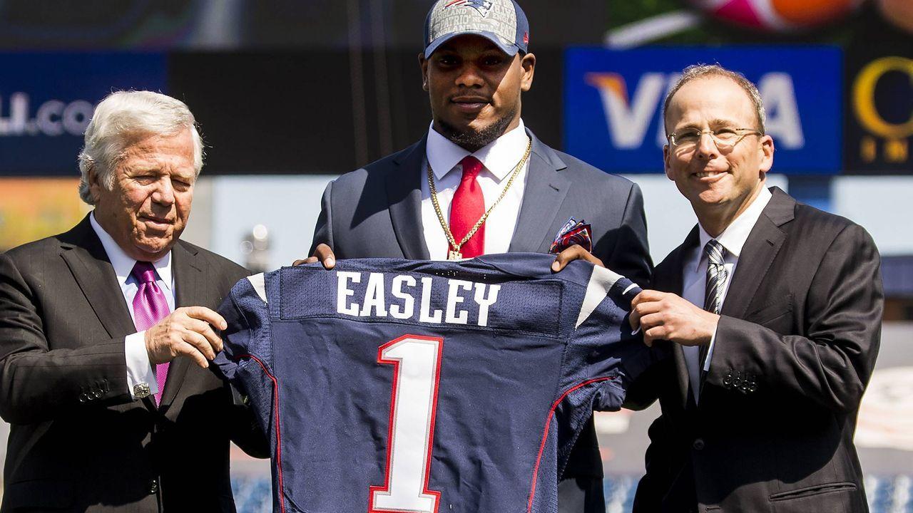 Dominique Easley (New England Patriots, 2014 an 29. Stelle) - Bildquelle: imago/ZUMA Press