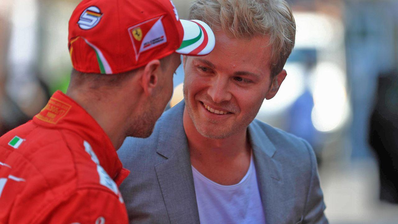 Nico Rosberg bietet sich als Vettel-Ersatz an - Bildquelle: imago images / Action Plus