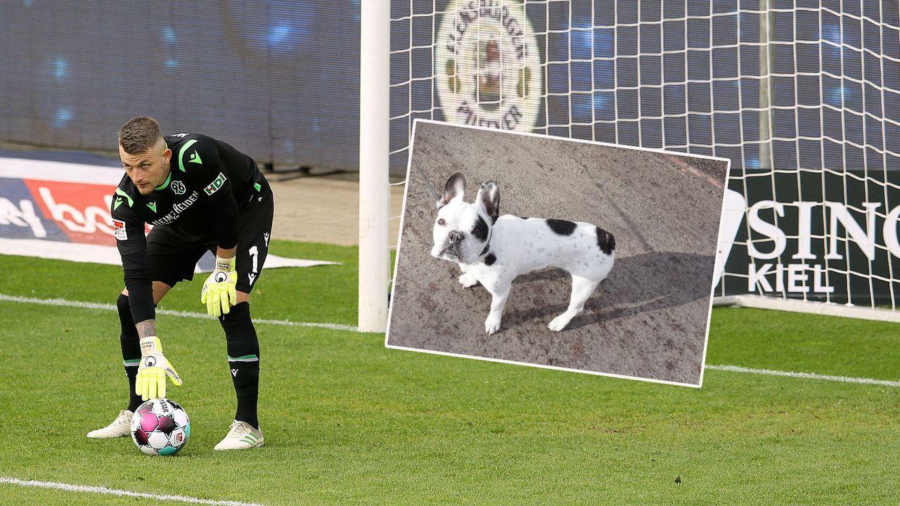 Martin Hansen von Hannover 96 überfährt seinen Hund mit Rasenmäher - Bildquelle: imago images/Claus Bergmann
