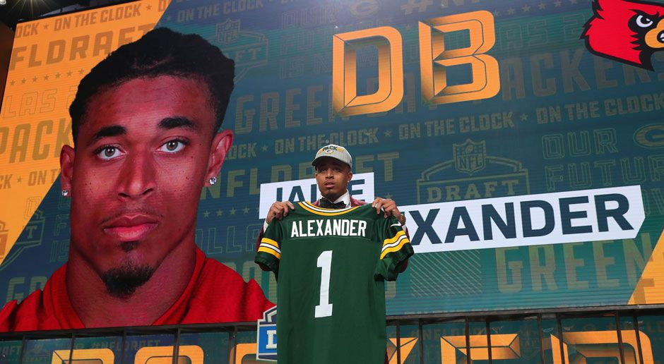 18. Jaire Alexander (Defensive Back, Green Bay Packers)  - Bildquelle: 2018 Getty Images