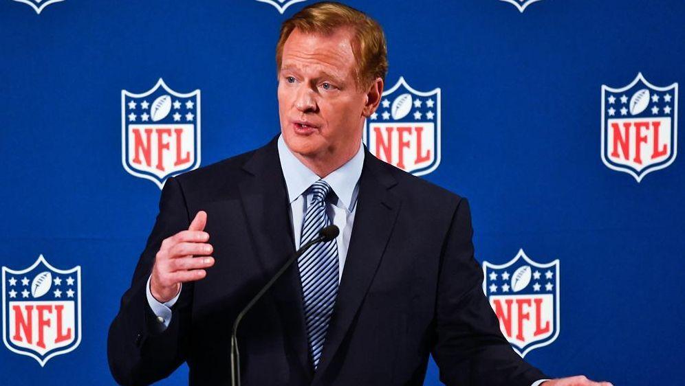 Roger Goodell kündigt Veränderungen in der NFL an - Bildquelle: SID-SID-GETTY AFP