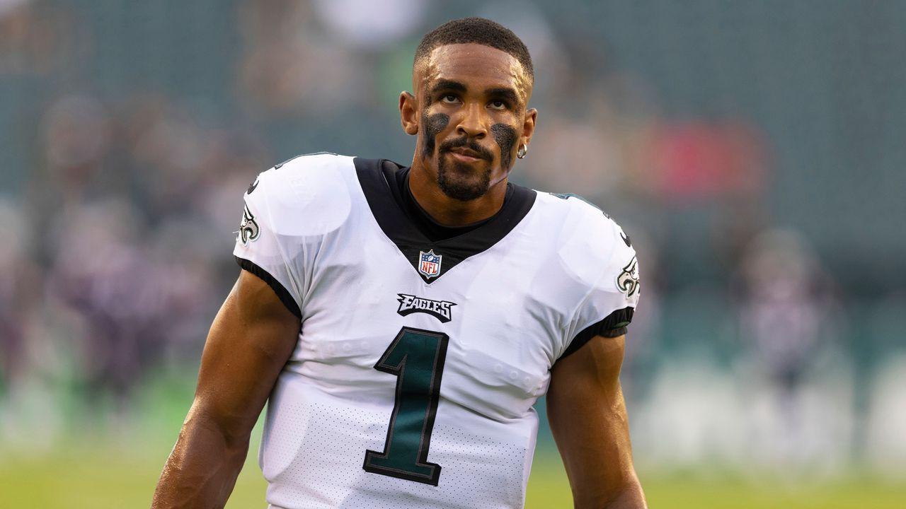 Philadelphia Eagles - Ist Jalen Hurts bereit für das schwierige Philly-Umfeld?  - Bildquelle: 2021 Getty Images