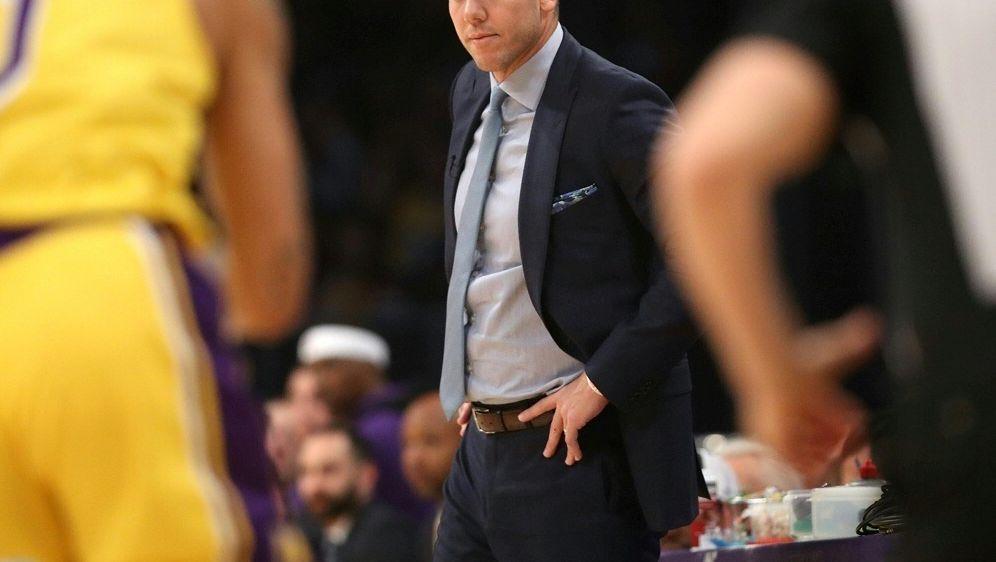 Trainer Luke Walton muss bei den Lakers gehen - Bildquelle: AFPGETTY SIDSean M. Haffey
