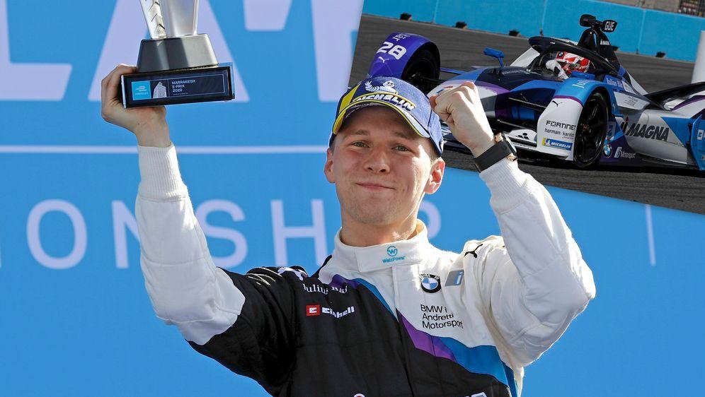 Maximilian Günther hat in der vergangenen Saison zwei Rennen für sein BMW i ... - Bildquelle: Imago