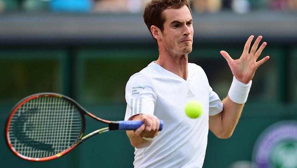 Andy Murray gibt sich in Wimbledon weiter keine Blöße - Bildquelle: SID-SID-AFP