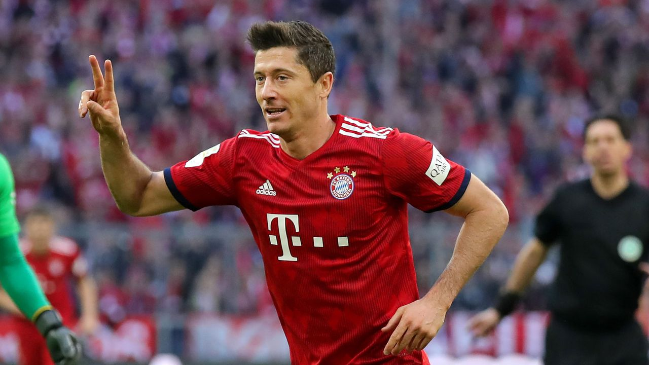 Robert Lewandowski (FC Bayern) - Bildquelle: Getty 2019