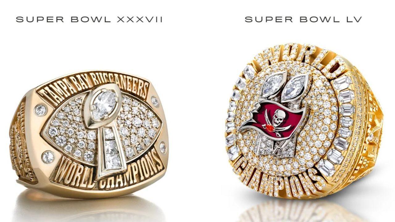 Vergleich zum ersten Ring-Design - Bildquelle: Tampa Bay Buccaneers