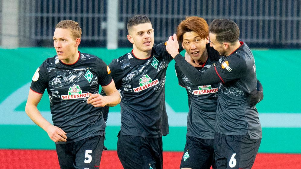 Erzielte im DFB-Pokal-Viertelfinale den goldenen Treffer gegen Jahn Regensbu... - Bildquelle: Imago Images