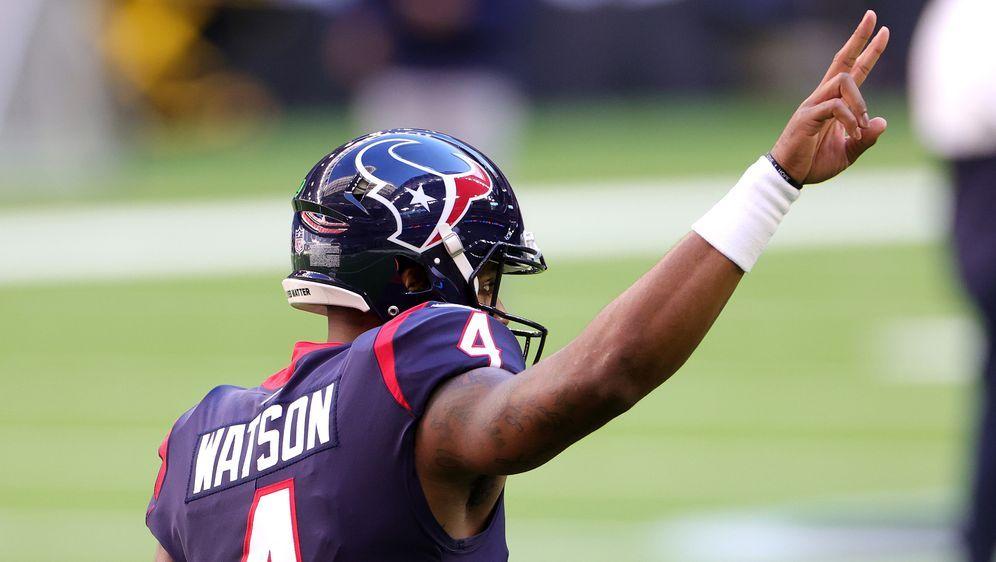Die Zukunft von Quarterback Deshaun Watson bei den Houston Texans ist offene... - Bildquelle: 2021 Getty Images