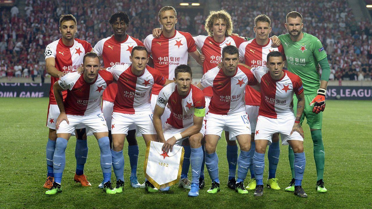 Topf 4: Slavia Prag - Bildquelle: imago images / CTK Photo