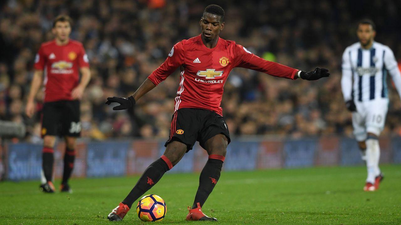 7. Platz: Manchester United 2016/17 - Bildquelle: 2016 Getty Images