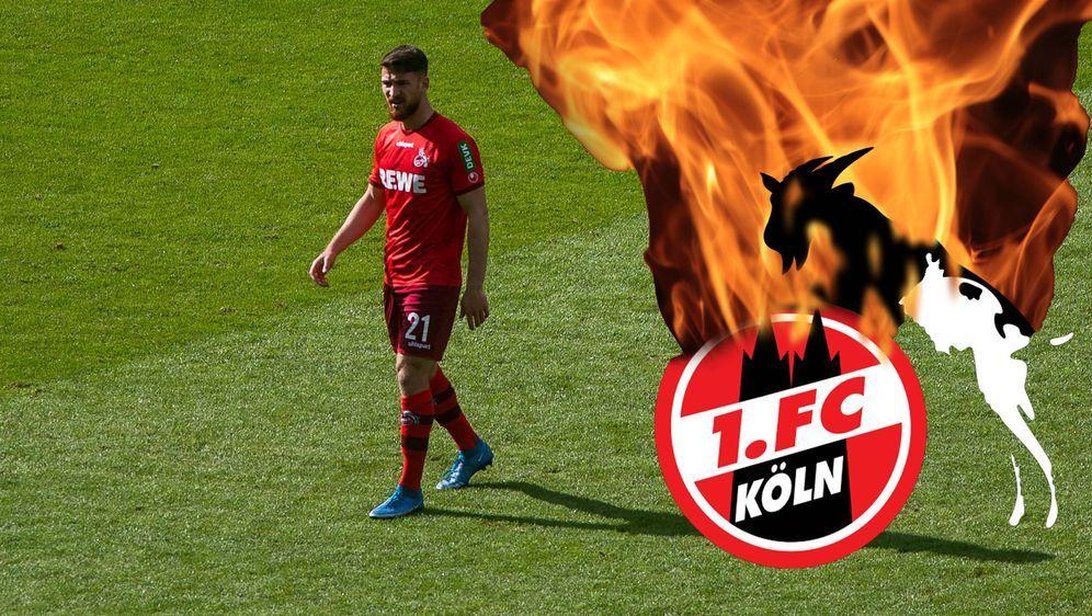 Der 1. FC Köln könnte am letzten Spieltag nur mit einem Sieg den direkten Ab... - Bildquelle: imago images/Jan Huebner