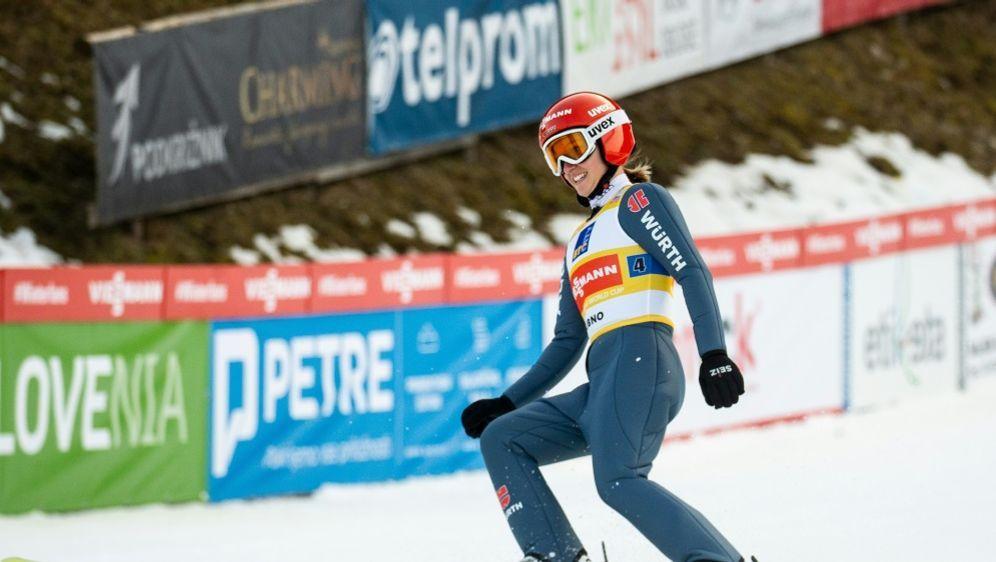 Katharina Althaus springt in Lillehammer auf Rang sechs - Bildquelle: PIXATHLONPIXATHLONSID