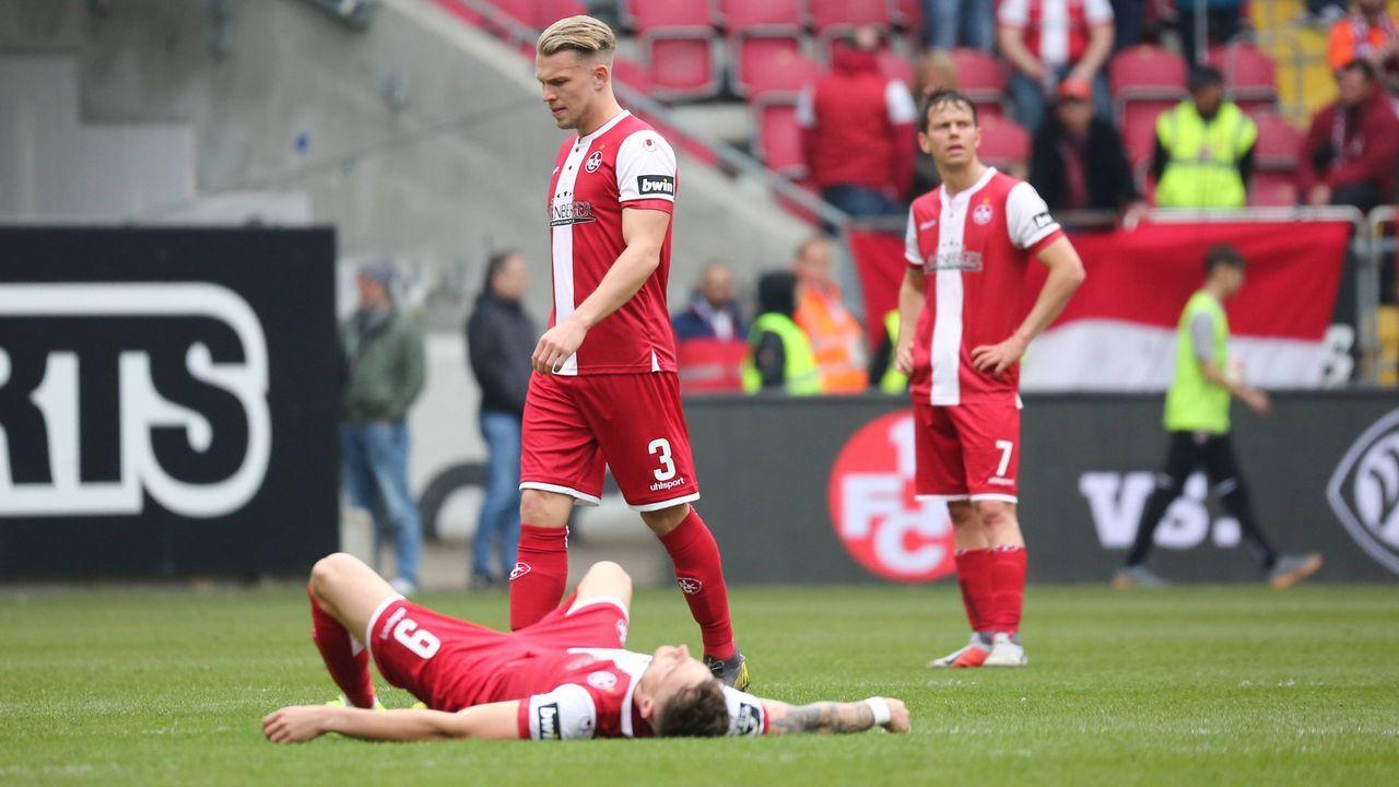 1. FC Kaiserslautern (45 Punkte, Platz 8) - Bildquelle: imago images / Eibner