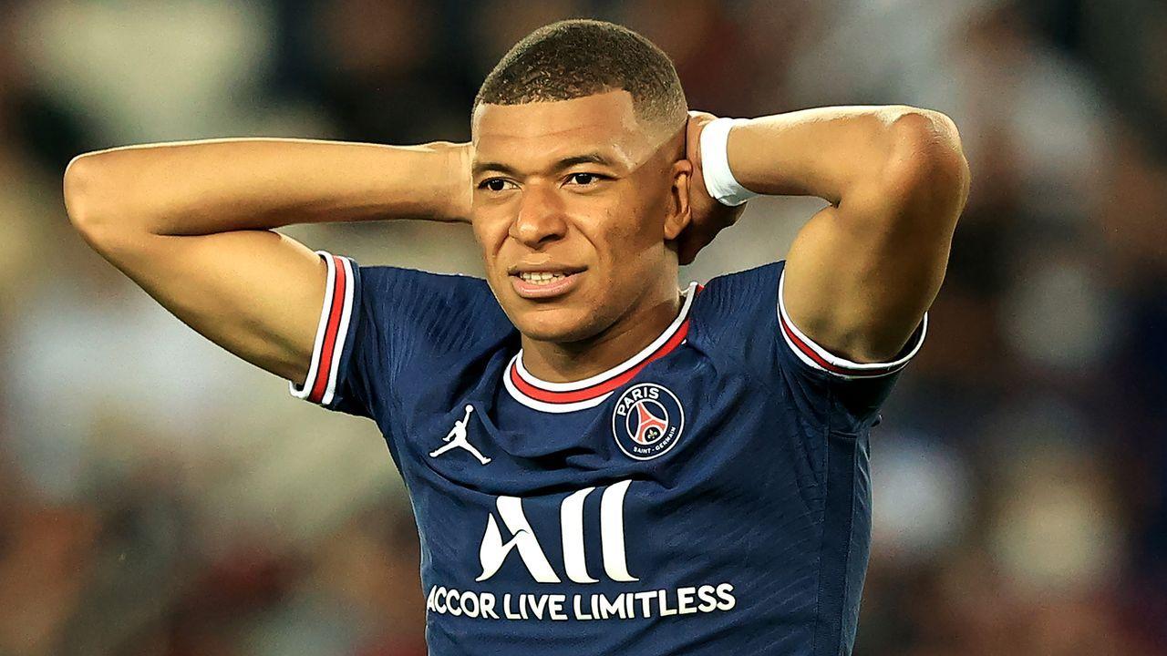 GEPLATZT: Kylian Mbappe von Paris St. Germain zu Real Madrid  - Bildquelle: Getty Images