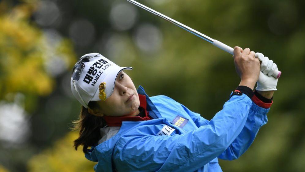 Karolin Lampert wurde neunte beim Sieg von Mi Jung Hur - Bildquelle: AFPSIDPHILIPPE DESMAZES