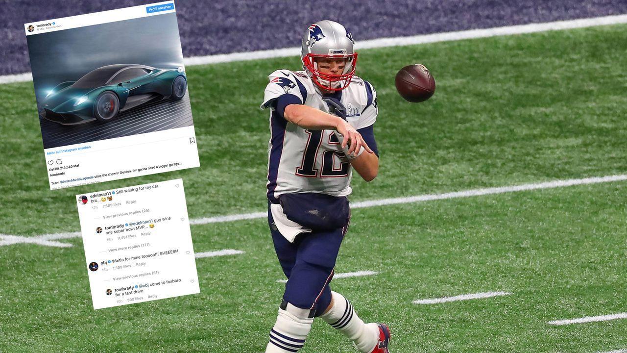 """Tom Brady und Odell Beckham setzen """"Bromance"""" fort - Bildquelle: imago/Icon SMI"""