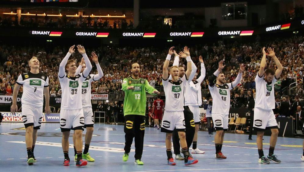 """Die deutschen Handballer sind """"Sportler des Monats"""" - Bildquelle: PIXATHLONPIXATHLONSID"""