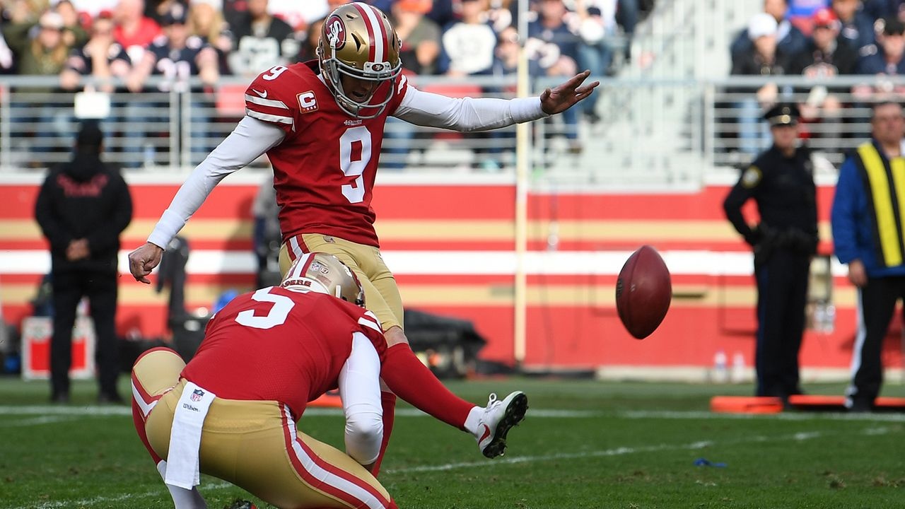 Robbie Gould (San Francisco 49ers) - Bildquelle: 2018 Getty Images