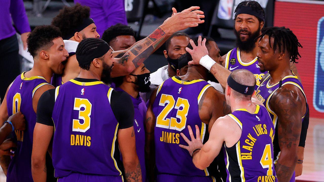 Lakers werden Favoritenrolle gerecht - Bildquelle: 2020 Getty Images