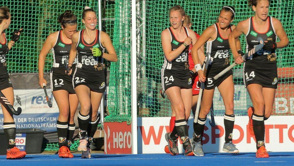 Die deutschen Hockeyfrauen stehen im EM-Halbfinale - Bildquelle: PIXATHLONPIXATHLONSID
