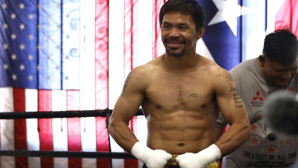 Auf Manny Pacquiao wartet nun ein neuer Gegner - Bildquelle: GETTY AFPSIDMICHAEL OWENS