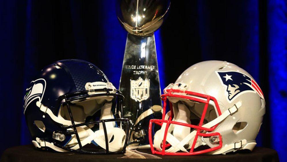 Im Super Bowl treffen die Seahawks auf die Patriots - Bildquelle: 2015 Getty Images
