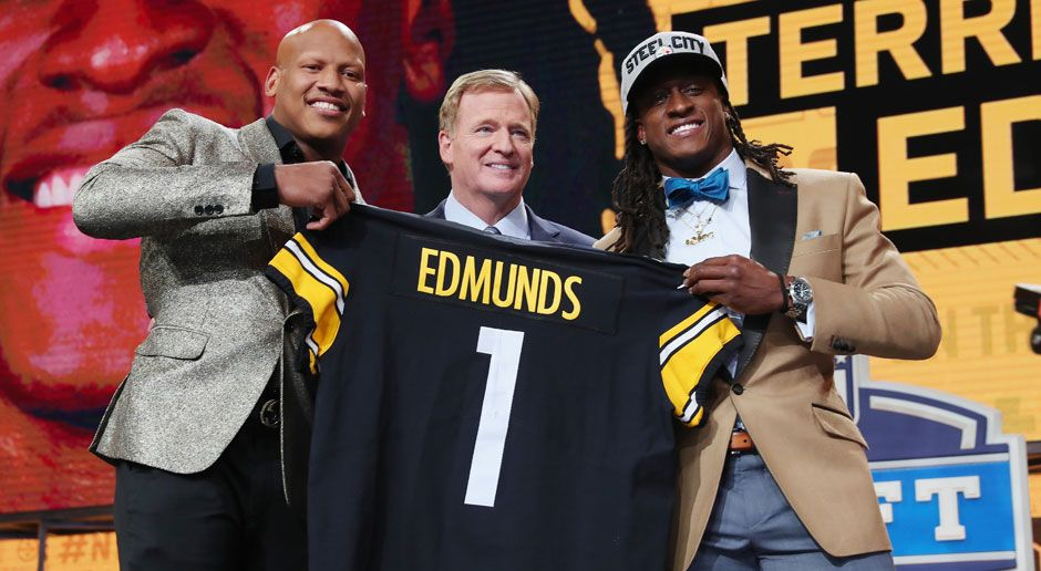 28. Terrell Edmunds (Safety, Pittsburgh Steelers)  - Bildquelle: 2018 Getty Images