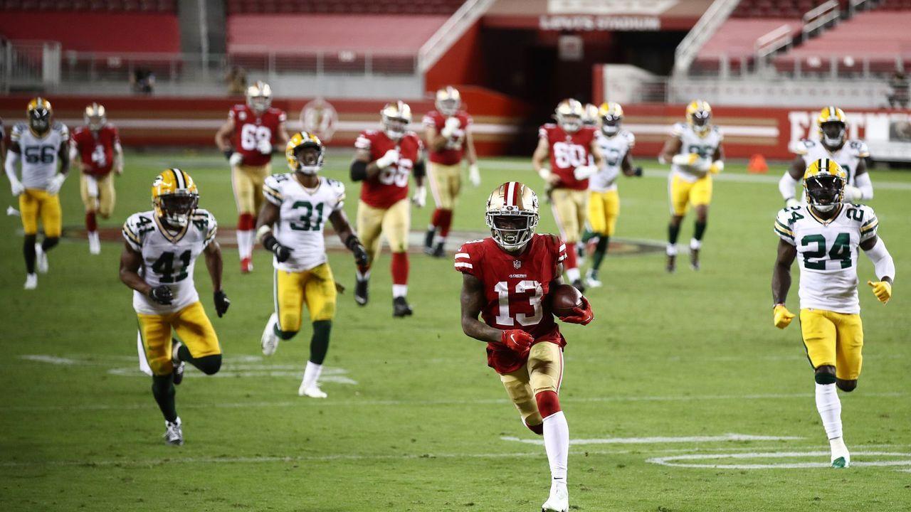 3. Spieltag: Green Bay Packers at San Francisco 49ers - Bildquelle: getty