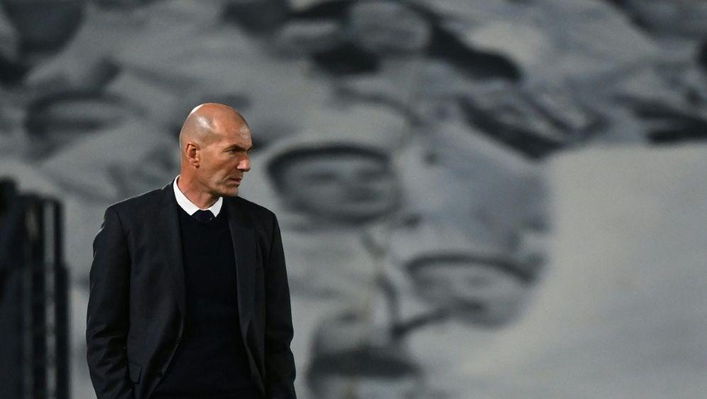 Real-Trainer Zinedine Zidane - Bildquelle: AFPSIDGABRIEL BOUYS