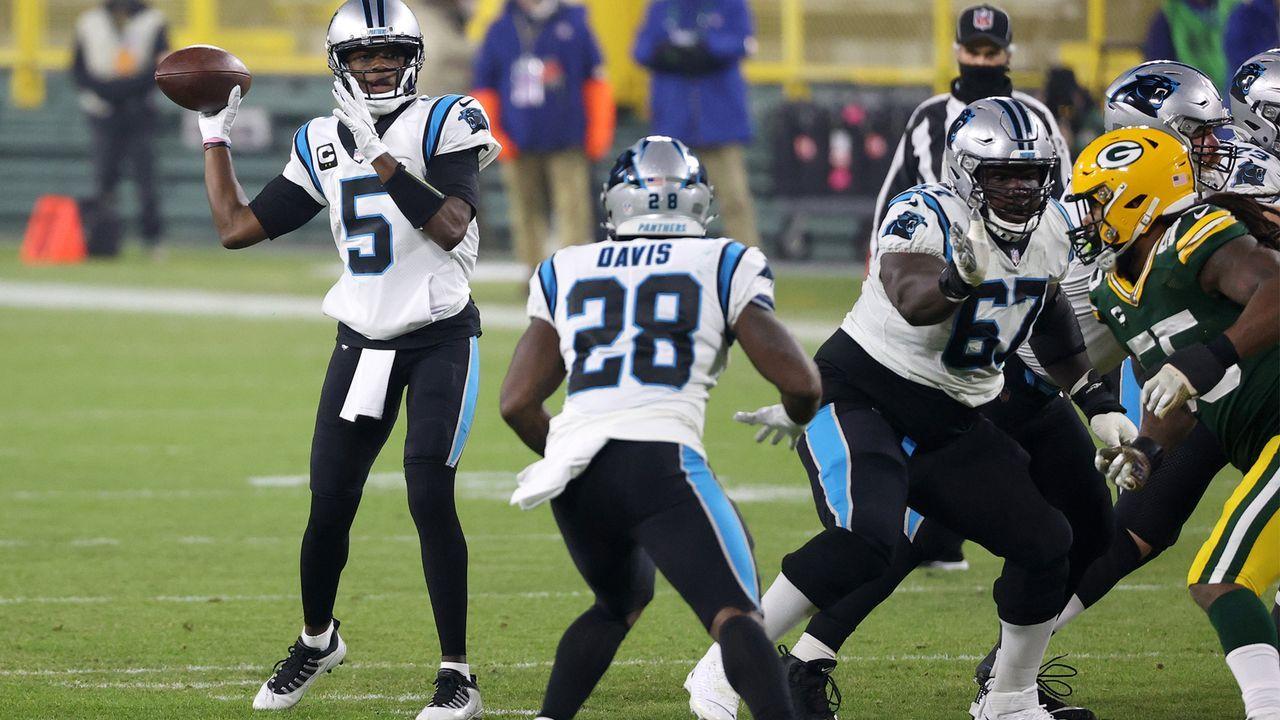 Carolina Panthers (4-10 zum Zeitpunkt des Ausscheidens) - Bildquelle: Getty