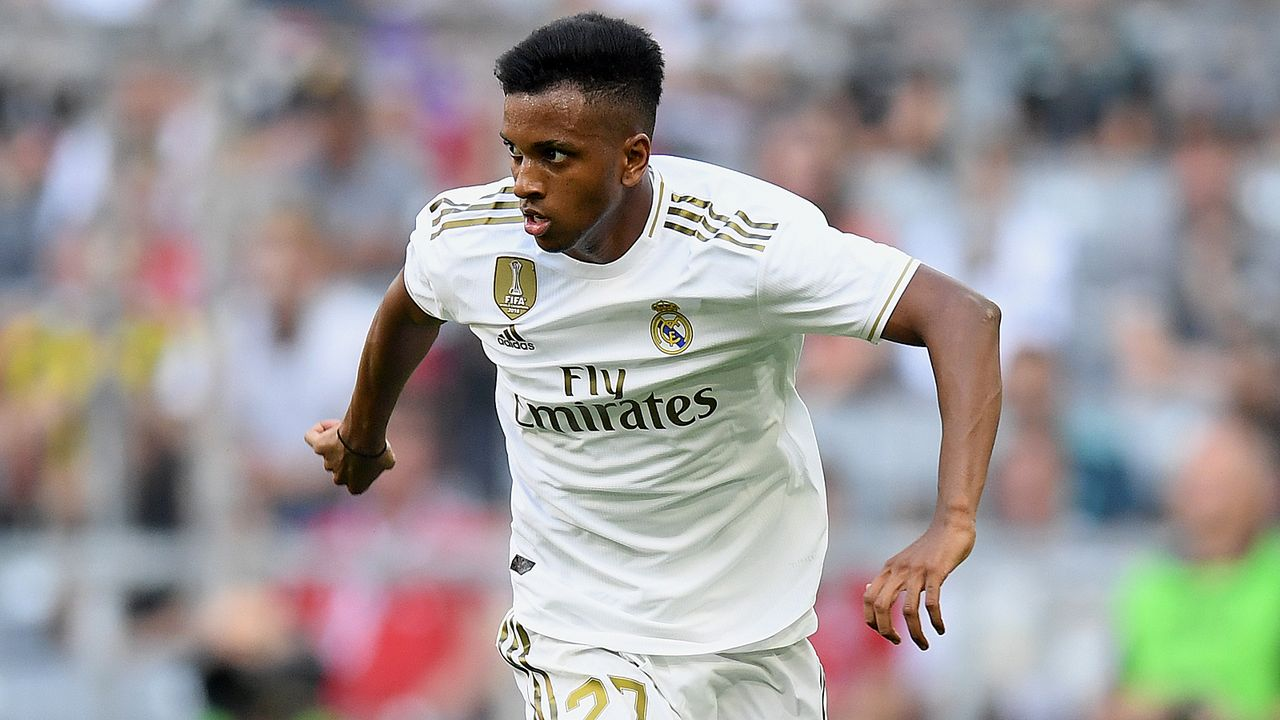 Rodrygo (Real Madrid) - Bildquelle: 2019 Getty Images