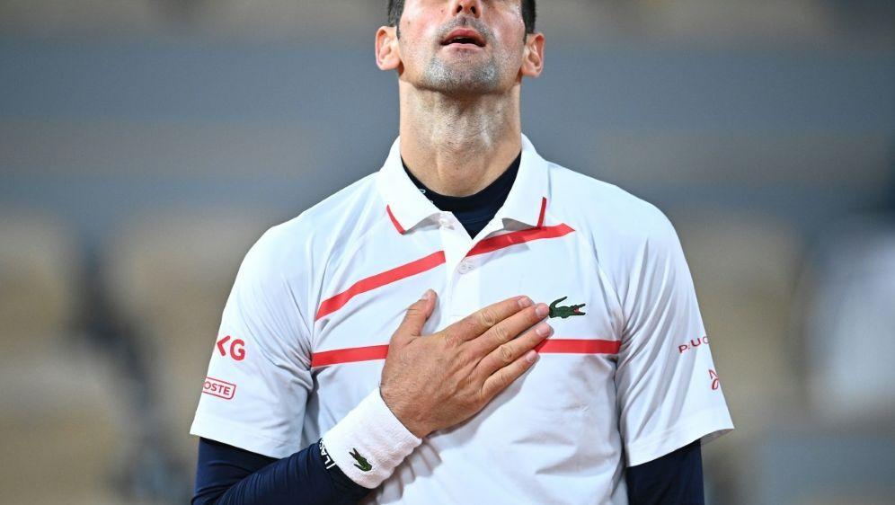 Novak Djokovic erreicht das Halbfinale der French Open - Bildquelle: AFPAFPAnne-Christine POUJOULAT