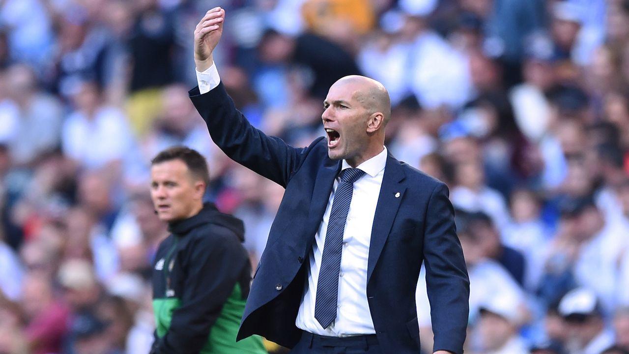 Platz 5: Zinedine Zidane - Bildquelle: 2019 Getty Images