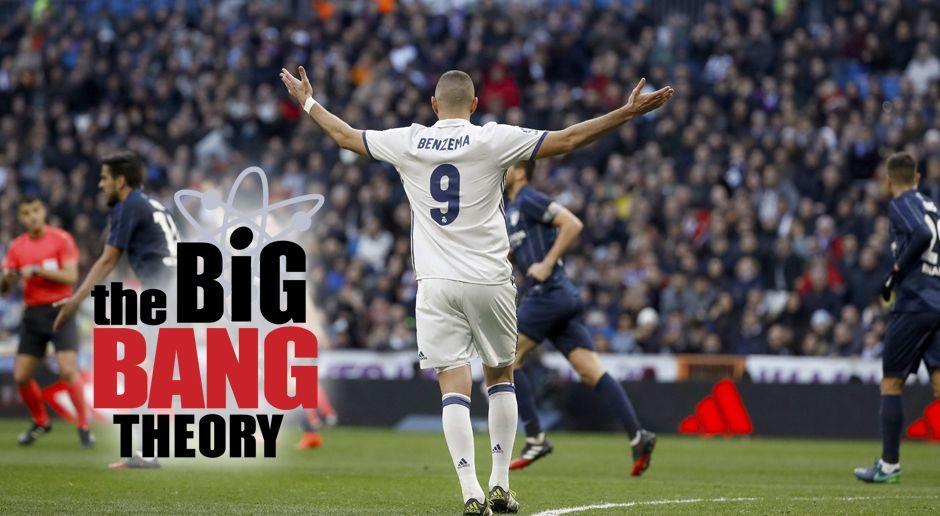 Karim Benzema - The Big Bang Theory - Bildquelle: imago/Agencia EFE