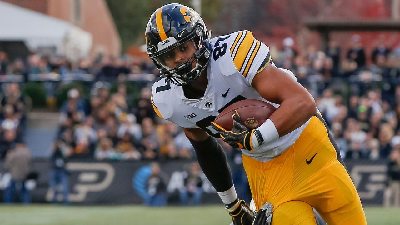 20. Pick - Denver Broncos: TE Noah Fant (Iowa) - Trade mit Pittsburgh Steelers - Bildquelle: 2018 Getty Images