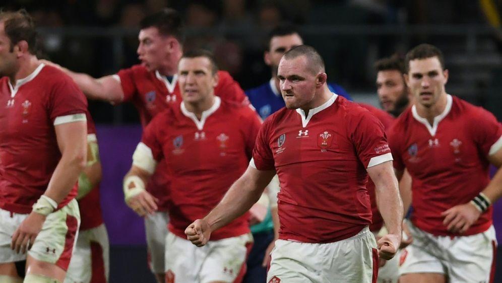 Rugby-WM: Wales bezwingt Frankreich 20:19 - Bildquelle: AFPSIDCHARLY TRIBALLEAU