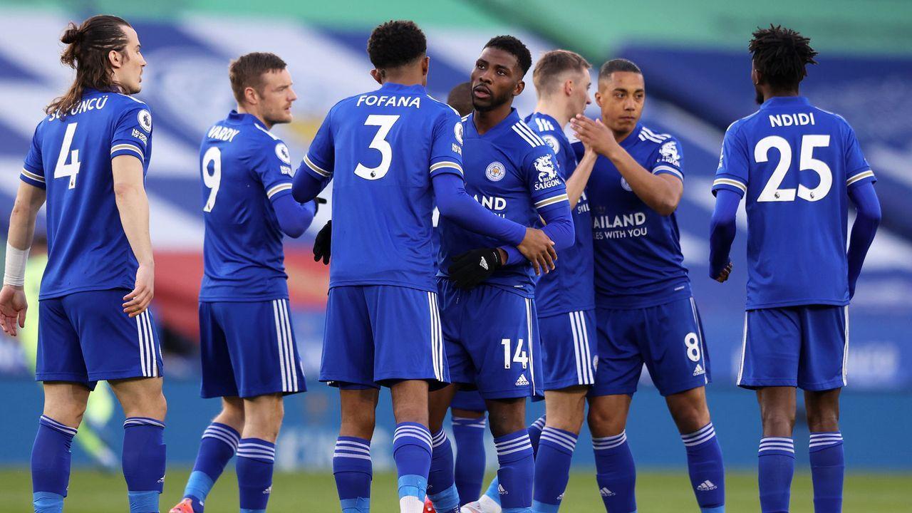 Platz 3: Leicester City - Bildquelle: Getty Images