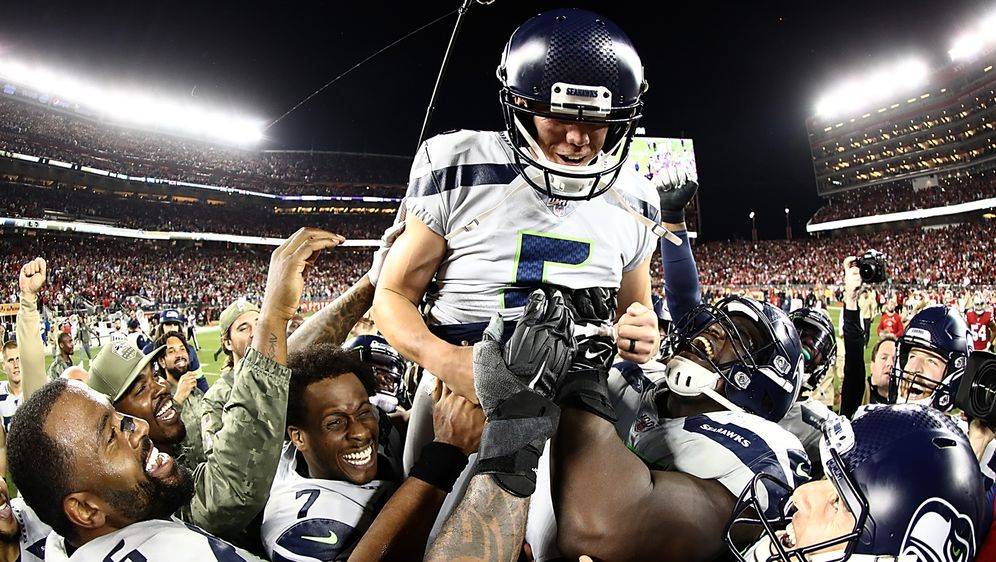 Schoß das entscheidende Field Goal: Jason Myers - Bildquelle: Getty Images