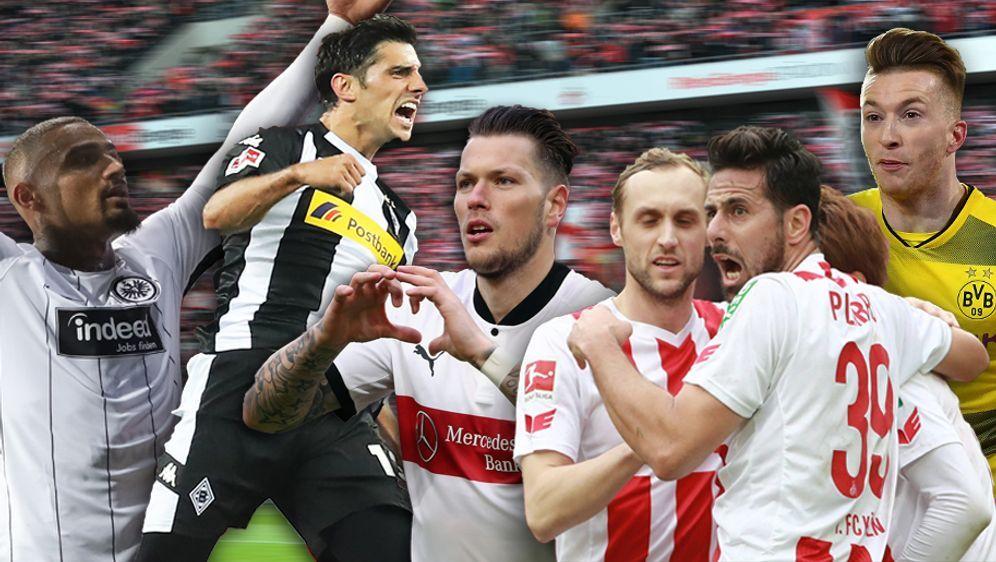 Wenn ein Tor fällt, wird es laut bei den Bundesliga-Klubs. - Bildquelle: getty/imago
