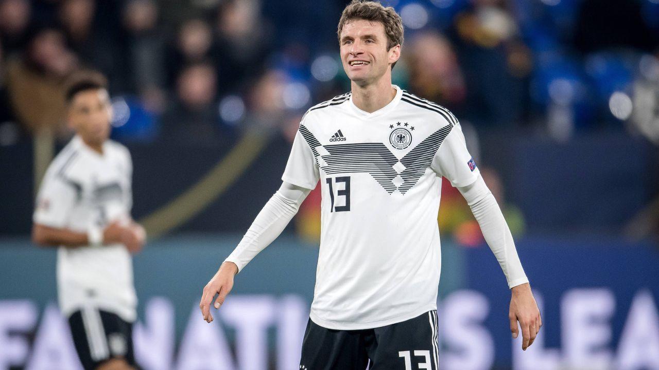 Mittelfeld: Thomas Müller (FC Bayern München) - Bildquelle: Imago