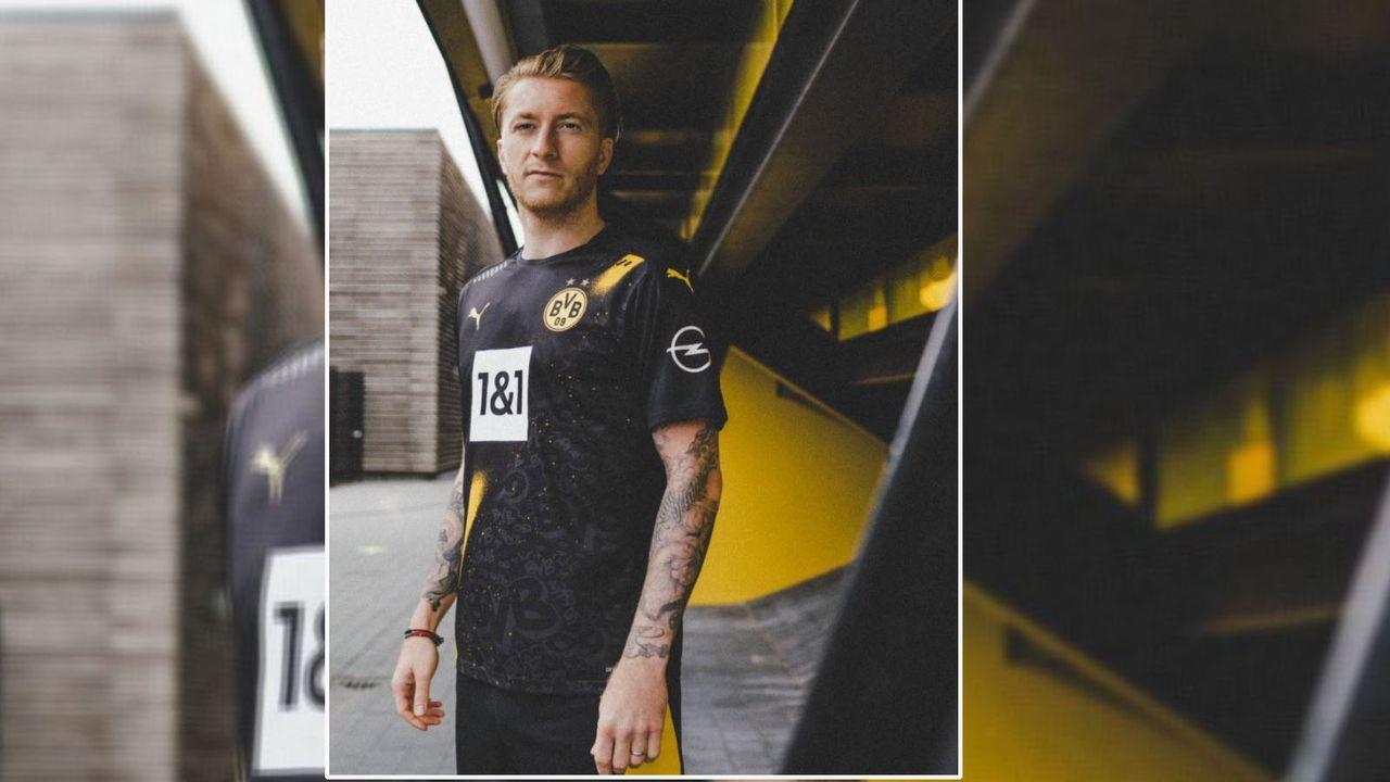 Borussia Dortmund (Auswärtstrikot Bundesliga 2020/21) - Bildquelle: twitter.com/puma